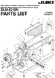 Download machines parts lists